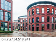 """Бизнес-квартал """"Арма"""", Нижний Сусальный переулок, дом 5 (2020 год). Редакционное фото, фотограф Алёшина Оксана / Фотобанк Лори"""