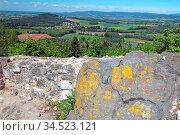 Burgruine Waldeck im Landkreis Tirschenreuth (Bayern) Стоковое фото, фотограф Zoonar.com/Walter J.Pilsak / easy Fotostock / Фотобанк Лори