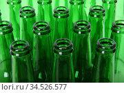 Стеклянные пустые бутылки. Стоковое фото, фотограф Иван Сошенков / Фотобанк Лори