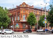 Дом Будникова. Смоленск. Редакционное фото, фотограф Сергей Афанасьев / Фотобанк Лори