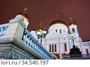 Old russian church in gloomy weather. Стоковое фото, фотограф Zoonar.com/Dmitry Kushch / age Fotostock / Фотобанк Лори