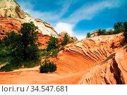 Beautiful slopes of Zion canyon. Utah. USA. Стоковое фото, фотограф Zoonar.com/Dmitry Kushch / age Fotostock / Фотобанк Лори