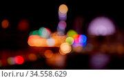 Bunte Bokeh Lichter auf dem Jahrmarkt als abstrakter Hintergrund. Стоковое фото, фотограф Zoonar.com/Robert Kneschke / age Fotostock / Фотобанк Лори
