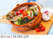 lamb shourpa with vegetables. Стоковое фото, фотограф Яков Филимонов / Фотобанк Лори