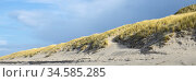 Duenenlandschaft an der Kueste, Insel Sylt, Nordfriesland, Schleswig... Стоковое фото, фотограф Zoonar.com/W. Wirth / easy Fotostock / Фотобанк Лори