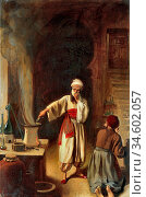 Board Ernest - Rhazes Persian Physician and Alchemist in His Laboratory... Стоковое фото, фотограф Artepics / age Fotostock / Фотобанк Лори