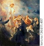 Uhde Fritz Von - the Ascension of Christ - German School - 19th Century... Редакционное фото, фотограф Artepics / age Fotostock / Фотобанк Лори