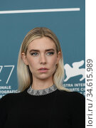 Vanessa Kirby attend the photocall of the movie 'The world to come... Редакционное фото, фотограф AGF/Maria Laura Antonelli / age Fotostock / Фотобанк Лори