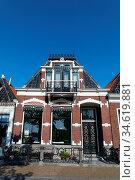 Haus in Friesland. Niederlande Workum. Стоковое фото, фотограф Zoonar.com/Gabriele Sitnik-Schmach / easy Fotostock / Фотобанк Лори