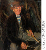 Dugdale Thomas Cantrell - Old Suffolk - British School - 19th Century. Стоковое фото, фотограф Artepics / age Fotostock / Фотобанк Лори