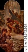Cormon Fernand - Décors Du Petit Palais 08 - L 'art Gothique - French... Стоковое фото, фотограф Artepics / age Fotostock / Фотобанк Лори
