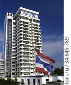 Hilton Hotel Hua Hin Thailand. Стоковое фото, фотограф Andrew Woodley / age Fotostock / Фотобанк Лори