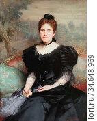 Fildes Sir Samuel Luke - Mrs William Hesketh Lever - British School... Стоковое фото, фотограф Artepics / age Fotostock / Фотобанк Лори