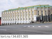 Московский Кремль. Оружейная палата (2020 год). Редакционное фото, фотограф Илюхина Наталья / Фотобанк Лори
