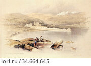 Roberts David - from an Antique Land - Tiberias Looking Towards the... Редакционное фото, фотограф Artepics / age Fotostock / Фотобанк Лори
