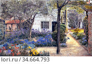 Rooke Thomas Matthews - North End House Rottingdean - British School... Редакционное фото, фотограф Artepics / age Fotostock / Фотобанк Лори