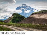 Volcano Opala, Kamchatka. Редакционное фото, фотограф Вита Фортуна / Фотобанк Лори