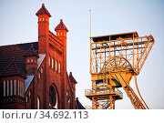 Zeche Zollern II/IV, Westfaelisches Industriemuseum, Dortmund, Ruhrgebiet... Стоковое фото, фотограф Zoonar.com/Stefan Ziese / age Fotostock / Фотобанк Лори