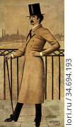 Greaves, walter - James Abbott McNeill Whistler on the Widow's Walk... Редакционное фото, фотограф Artepics / age Fotostock / Фотобанк Лори