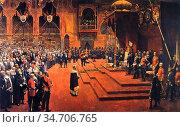Lavery, sir john - Glasgow International Exhibition, 1888 - State... Редакционное фото, фотограф Artepics / age Fotostock / Фотобанк Лори