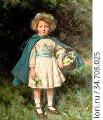 Logsdail William - Patricia Theophila Anley - British School - 19th... Редакционное фото, фотограф Artepics / age Fotostock / Фотобанк Лори