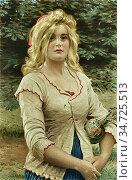 Morris Phillip Richard - Audrey - British School - 19th Century. Редакционное фото, фотограф Artepics / age Fotostock / Фотобанк Лори