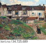 Martin Henri - Renvoi a La Maison - French School - 19th and Early... Стоковое фото, фотограф Artepics / age Fotostock / Фотобанк Лори