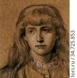 Murray Charles Fairfax - Portrait Study of Lisa Stillman - British... Редакционное фото, фотограф Artepics / age Fotostock / Фотобанк Лори