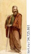 Murray Charles Fairfax - Portrait of Ruskin as St Paul - British ... Редакционное фото, фотограф Artepics / age Fotostock / Фотобанк Лори