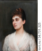 Roberts Ellis William - Portrait of Bertha-Clara Von Rothschild - ... Редакционное фото, фотограф Artepics / age Fotostock / Фотобанк Лори