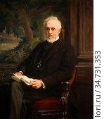Roberts Ellis William - Sir Henry Doulton - British School - 19th... Редакционное фото, фотограф Artepics / age Fotostock / Фотобанк Лори