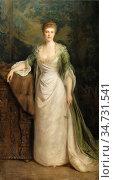 Roberts Ellis William - Portrait of an Elegant Lady - British School... Редакционное фото, фотограф Artepics / age Fotostock / Фотобанк Лори
