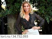Vittoria Schisano during the photocall of tv show 'Ballando con le... (2020 год). Редакционное фото, фотограф Maria Laura Antonelli / AGF/Maria Laura Antonelli / age Fotostock / Фотобанк Лори