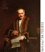 Salisbury Frank Owen - Sir John Tweedy - British School - 19th Century... Редакционное фото, фотограф Artepics / age Fotostock / Фотобанк Лори