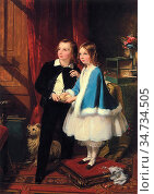 Sant, james - The Children of George Spencer-Churchill, Duke of Marlborough... Редакционное фото, фотограф Artepics / age Fotostock / Фотобанк Лори