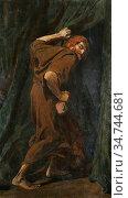 Williams Christopher - Judas the Iscariot - and It Was Night - British... Редакционное фото, фотограф Artepics / age Fotostock / Фотобанк Лори