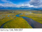 Avacha river delta on Kamchatka. Стоковое фото, фотограф Михаил Коханчиков / Фотобанк Лори