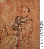 Lemmen Georges - Nabij De Kachel - Belgian School - 19th Century. Стоковое фото, фотограф Artepics / age Fotostock / Фотобанк Лори