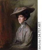 Laszló FüLöp Elek - Mrs Herbert Asquith Later Countess of Oxford ... Стоковое фото, фотограф Artepics / age Fotostock / Фотобанк Лори