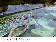 Image of thermal water in hungarian Egerszalok. Стоковое фото, фотограф Яков Филимонов / Фотобанк Лори