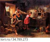 Pratt Jonathan - the Studio of a Rustic Genius - British School - ... Редакционное фото, фотограф Artepics / age Fotostock / Фотобанк Лори