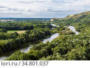Congruence of the Danube and Morava rivers in Devin (Bratislava, ... Стоковое фото, фотограф Miriam Gil Albert / age Fotostock / Фотобанк Лори