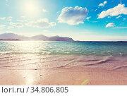 Beautiful landscapes in Lofoten islands, Northern Norway. Summer season... Стоковое фото, фотограф Zoonar.com/Galyna Andrushko / easy Fotostock / Фотобанк Лори