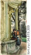 Tissot James Jacques - Kew Gardens - French School - 19th and Early... Редакционное фото, фотограф Artepics / age Fotostock / Фотобанк Лори