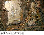 Bauer Marius - Oosterse Winkel - Dutch School - 19th Century. Редакционное фото, фотограф Artepics / age Fotostock / Фотобанк Лори