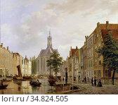 Hove Bart Van - De Nieuwe Kerk Gezien Vanaf De Turfmarkt Den Haag... Редакционное фото, фотограф Artepics / age Fotostock / Фотобанк Лори