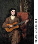 Shannon Sir James Jebusa - Portrait of Florence the Artist's Wife... Редакционное фото, фотограф Artepics / age Fotostock / Фотобанк Лори