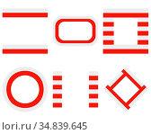 Fahnen von Polen mit Textfreiraum - Flags of Poland with copy space. Стоковое фото, фотограф Zoonar.com/lantapix / easy Fotostock / Фотобанк Лори