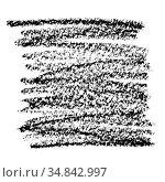 Black crayon doodle background. Стоковая иллюстрация, иллюстратор Роман Сигаев / Фотобанк Лори