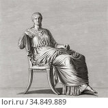 Julia Agrippina, often referred to as Agrippina the Younger, AD 15... (2019 год). Редакционное фото, фотограф Classic Vision / age Fotostock / Фотобанк Лори